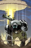 Atomic Robo by MichaelMayne