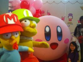 Kirby 20th at Nintendo World 22 by MarioSimpson1