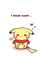 I Want Sleep by pikaira