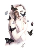 Blackbutterflies by RIETY