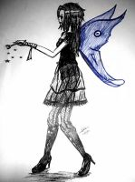 Gothic Fairy by woostersauce