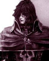 Space Pirate Captain Harlock by Dark-SpectrumDS