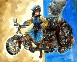 Steampunk Tricycle by timberking