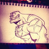 Zangief AKA The Red Cyclone by Zatransis