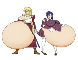 Satellizer and Rana by RiddleAellinea