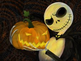 Jack Skellington - The Pumpkin King by Ravyn-Karasu