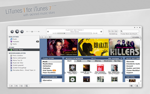 LiTunes I skin for iTunes 7 by MrToNeR