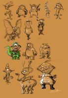 Some Xeno Sketches by kpeezy522