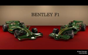 Bentley F1 concepts by csicso3d