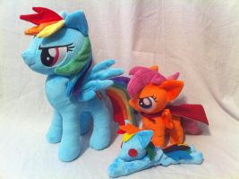 Dash and Scoot set by PlanetPlush