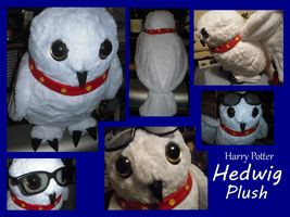 Hedwig Plush by methuselah-alchemist