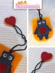 robot in Love Bookmark views by k-irb