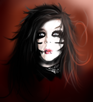 Andy Biersack: Born of Darkness by MiraRavenheart