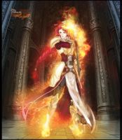 Titania Defender of fire by thenti