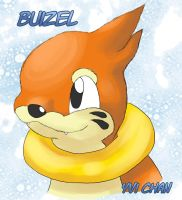 Buizel by Cachomon