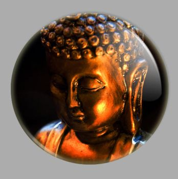 Buddha button by Hanji8