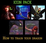 how to train your dragon Icons by Hanitachawn