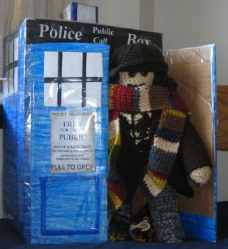 The Fourth Doctor by Wolverinegal