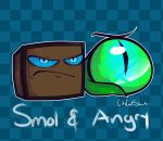 Smol And Angry by CityCatSlack