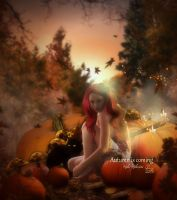 Autumn is coming by MelieMelusine