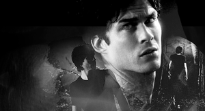 Blend with Damon Salvatore: 2 by Lenny-art