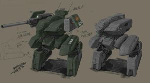 PLA mecha [Wall] by marksanwel