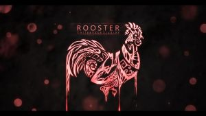 Abstract Zodiac Rooster by KhoaSV