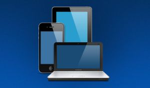 FREE PSD: Notebook - Ipad - Iphone by ait-themes