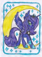 Paint with Water - Luna by Driphtyr