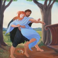 The Abduction of Persephone by MrSandmanGR on DeviantArt