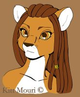 Lioness Flat Color by KittMouri