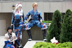 Otakon 2012: Gallian Heroes by melvinopolis