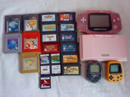 Nintendo Handheld Collection by MarticusProductions