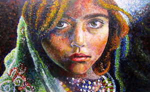 Afghan Girl by Hacate