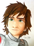Hiccup: HTTYD2 by Oskar-Draws