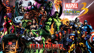 Marvel VS Capcom 3 Team Marvel by CrossDominatriX5