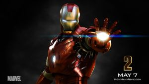 Iron Man Wallpaper by bananainpyjamas