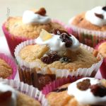 Mixed Fruit and Yogurt Cupcakes by claremanson