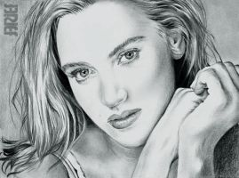 Kate Winslet Cute Drawing by riefra