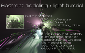 modeling and light tutorial by MrRoBiN