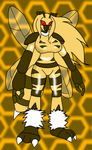 Collaby: The Lady Bug by KechiTheHedgie