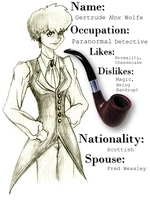 G. Nox : Paranormal Detective by Weasley-Detectives