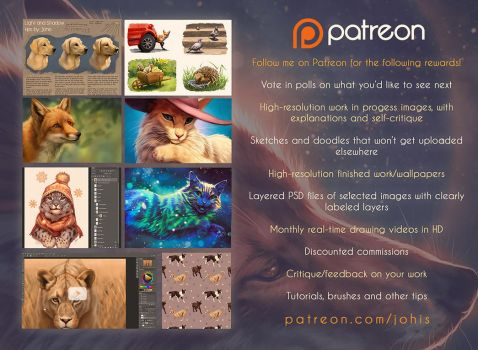 Patreon Sneak Peeks by Lhuin