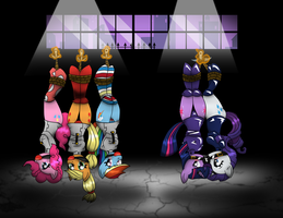 Hanging Ponies Compilation (Coloured) by Ponyguy67