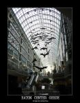 Eaton Center Geese by Auquicu