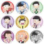BUTTONS Osomatsu san White Day by Vulpixi-Misa