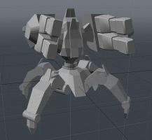 Protoss Immortal WIP 2 by usere35