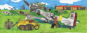 Wings of the past -Dora nine by DingoPatagonico