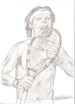 Rafael Nadal by ChantiiGG