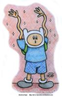 Adventure Time - Finn by AK-Is-Harmless